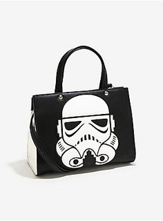 Loungefly Star Wars Stormtrooper Applique Purse   BoxLunch