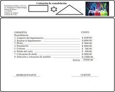 9 Ideas De Cotizar Plantillas De Presupuesto Cotizacion Formato Hojas De Presupuesto