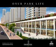 Onur Park Life İstanbul'un  konut, ofis ve alışveriş sokağını bir araya getiren konsepti, etkin bir iş hayatının ve canlı bir sosyal yaşamın tüm kolaylıklarını bir arada sunuyor.  Şehri tüm renkleriyle yaşamak istiyorsanız Onur Park Life'da yerinizi alın.