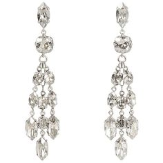 Isabel Marant Crystal-embellished earrings (11 540 UAH) ❤ liked on Polyvore featuring jewelry, earrings, chandelier earrings, chandelier jewelry, isabel marant, isabel marant earrings and earring jewelry