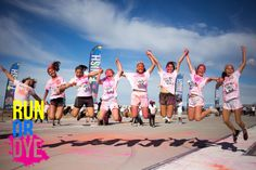 I need to attend one in my area! There's a lot of white on me to dye--I'm made for it! ;) #runordye