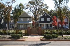 Downtown Revitalization!  Pendleton West area in downtown Greenville where affordable housing and green spaces were added as a part of the area's restoration.  Quinn Satterfield is proud to have been a part of this project.