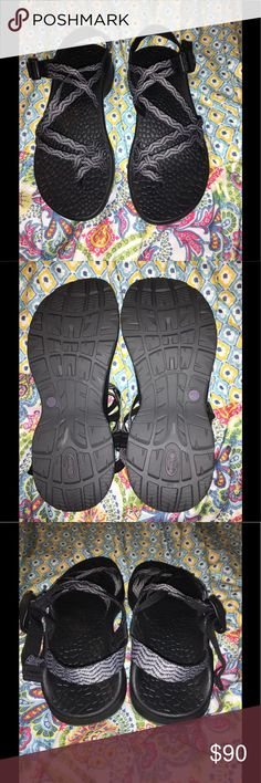 *Brand New* Chaco Updraft EcoTread Sandals Brand new without tags; they have never been worn which is obvious by the soles of them. I included picture 4 to show what others are charging for them. *I do not have the original shoe box they came in*  Versatile: Can be worn outdoors while hiking, kayaking, in water OR can be worn as just a cute strappy sandal to complete your outfit.   Adjustability: There are tutorials on YouTube that show the steps to unloosening/tightening the straps to…