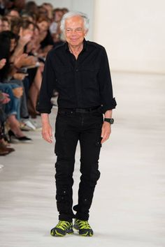 Oliver Rousteing at Balmain. See all the looks that the designers themselves rocked on the runway: