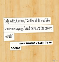 Diana Wynne Jones, Deep Secret