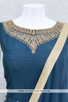 Indian Designer Outfits, Indian Outfits, Festival Wear, Blue Fabric, Traditional Outfits, Cool Outfits, Silk, Clothes, Anarkali