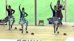 Cowal 2015 - Friday Juvenile Sword dance - Erin Blair (world champion) Scottish Highland Dance, Scottish Highlands, Sword Dance, Dance Videos, World Championship, Dance Outfits, Tartan, Photo And Video, Dancing