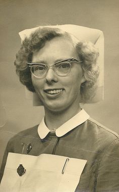 """Unidentified Nurse 1960s 
