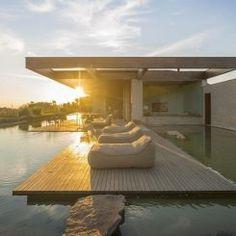 Incrível casa de veraneio com lago – Arthur Casas