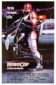 RoboCop (1987) - USA Warner Action Sci-fi D: Paul Verhoeven. Peter Weller, Nancy Allen, Dan O'Herlihy, Ronny Cox, Miguel Ferrer. 29/06/03