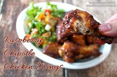 How to Make Raspberry Chipotle Chicken Wings