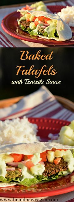 f you've never had Baked Falafels – you're really missing out on a treat. Crispy, crunchy, little patties of Spicy Chickpeas smothered in a tangy Cucumber Sauce. Ah….street food never tasted so good!