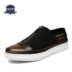 Find More Men's Flats Information about New 2016 High Quality Genuine Leather Men Flats,Handmade Zip Fashion Italian Design Male Shoes,Leisure Spring Causal Shoes Men,High Quality shoes for sale singapore,China shoe gallery shoes Suppliers, Cheap shoe organiser from Fall in Love with Bullock on Aliexpress.com