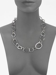 Ippolita - Sterling Silver Open Link Necklace -