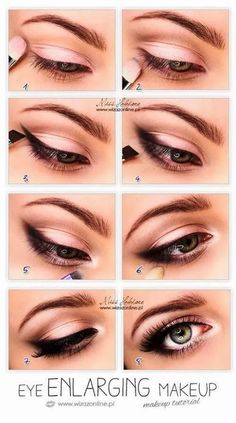 Beautiful eye tutorial for any kind of eye, even hooded ;) on We Heart It