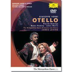Otello (Dvd)- Met Opera - Domingo, Fleming, Morris