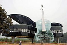 The Piano House.  Anhui, China