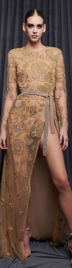 Georges Hobeika, Fashion Show, Fashion Trends, Women Wear, Vogue, Nude, Couture, Formal Dresses, Fall