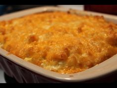 Southern Baked Macaroni and Cheese Recipe