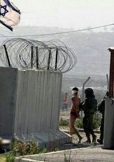 "The daily reality of Palestinian  ""Civilians"". The worlds best kept secret.  Concentration Camps"