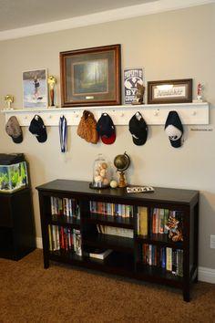 DIY Peg Board Shelf - The Idea Room