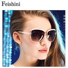 $9.91 (Buy here: https://alitems.com/g/1e8d114494ebda23ff8b16525dc3e8/?i=5&ulp=https%3A%2F%2Fwww.aliexpress.com%2Fitem%2FF-D-A-Fashion-Driving-Sexy-Glasses-Brand-Designer-Oculos-2015-UV400-Protection-Big-Frame-Vintage%2F1054929045.html ) FEISHINI High Quality FDA Fashion Driving oculos de sol feminino 5COLOR UVA Big Frame Vintage Sunglasses Women Polarized Brand for just $9.91