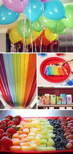 Wizard of Oz Rainbow Song | Wizard of Oz Rainbow Dorothy Girl Birthday Party Planning Ideas