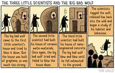 Cartoons by Tom Gauld