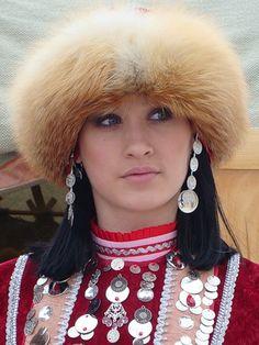 Girl of The Republic of Bashkortostan. Russia