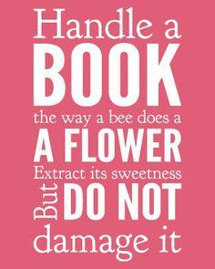 handle a book