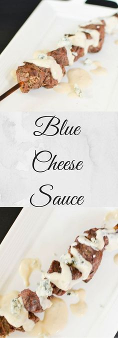 Blue Cheese sauce for steak is a rich and creamy sauce perfect for an elegant steak dinner. You can also serve this cheese sauce on a Balsamic grilled chicken as well