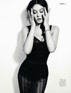 Monica Bellucci in Dolce Gabbana photographed by Juan Aldabaldetrecu for Elle Spain