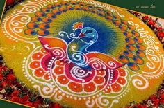 Presenting a collection of beautifully designed rangolis. 13 of 13