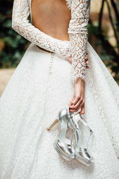 Découvrez la première collection de chaussures de mariée de Jonak.