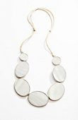 mother-of-pearl necklace | J.Jill