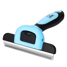 Pet Grooming Brush Effectively Reduces Shedding By Up To 95% Professional Deshedding Tool For Dogs And Cats ** You can get more details by clicking on the image. (This is an affiliate link and I receive a commission for the sales)