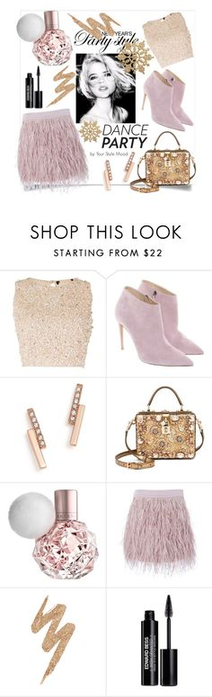 """Dance party"" by yourstylemood ❤ liked on Polyvore featuring Lace & Beads, Ralph Lauren, ZoÃ« Chicco, Dolce&Gabbana, SuperTrash, Urban Decay and Edward Bess"