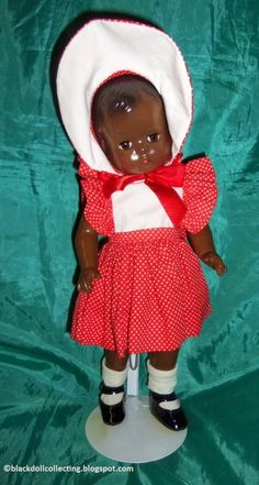 Black Doll Collecting: Buttercup Trixie and Predecessors Black Baby Dolls, Effanbee Dolls, Christmas Gift Box, Body Sculpting, Yellow Lace, New Dolls, Paper Tags, Buttercup, First Photo