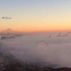 Seattle Fog :) oh how I love my city!