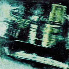 Attraversamenti 1993 oil on canvas cm. Oil On Canvas, Northern Lights, Abstract, Artwork, Nature, Baby, Summary, Work Of Art, Naturaleza