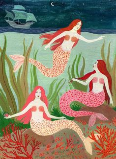 mermaid gathering by beccastadtlander on Etsy