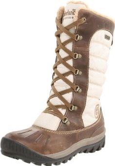 Timberland Women's Mount Holly Lace Duck Boot Waterproof Boots: Amazon.co.uk: Shoes & Bags
