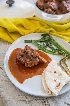 I remember my grandma frequently buying short ribs – they used to be inexpensive. Now, they are trendy and not as economical, but still less expensive than steak or tenderloin, which makes this meal a