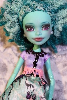 Monster High Doll-Honey Swamp by Amber-Honey