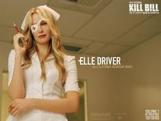 Elle Driver's nurse outfit from Kill Bill volume 1.