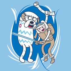 Star Wars + Adventure Time = Awesome
