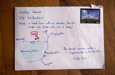 El eficiente servicio postal islandés: La carta llegó con un plano y sin dirección - http://www.vistoenlosperiodicos.com/el-eficiente-servicio-postal-islandes-la-carta-llego-con-un-plano-y-sin-direccion-2/