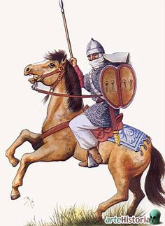 Almoravid Moor Warrior Historical Art, Historical Pictures, Battle Of Tours, Zombie Army, Turkish Soldiers, Arm Armor, Medieval Times, Dark Ages, North Africa