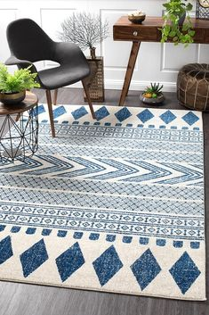 View Rug Culture Adani Modern Tribal Design Floor Area Rugs Navy at Swan Street Sales. Shop online or visit our store for the largest range of Floor Rugs at the best prices. Homemade Rugs, Tribal Decor, Navy Rug, Aztec Rug, Transitional Rugs, Machine Made Rugs, Hand Tufted Rugs, Cool Rugs, Indoor Rugs