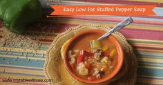This Stuffed Pepper Soup from My Table of Three has all the flavors of stuffed peppers with the easy of a one pot meal. A great affordable meal option.